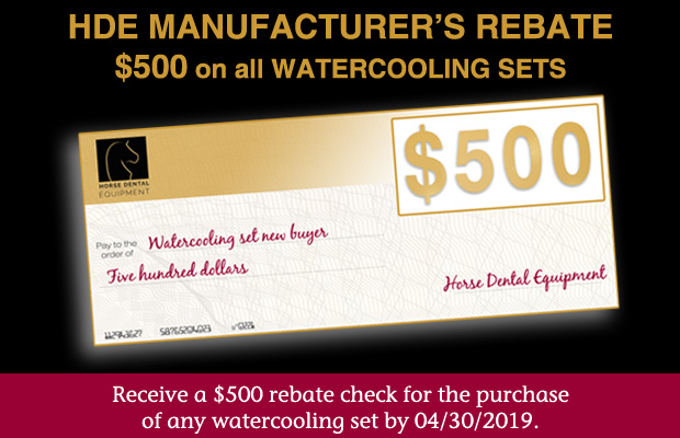 HDE Manufacturer's rebate - $500 on all Watercooling sets