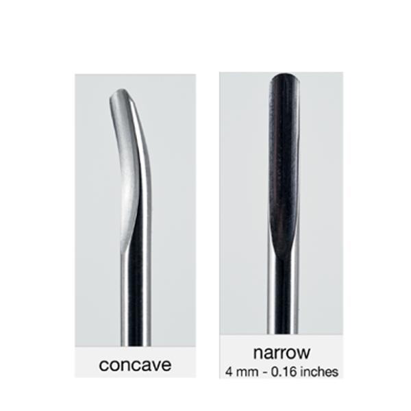 Luxator insert 150/4 concave