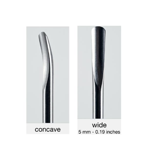 Luxator insert 150/5 concave