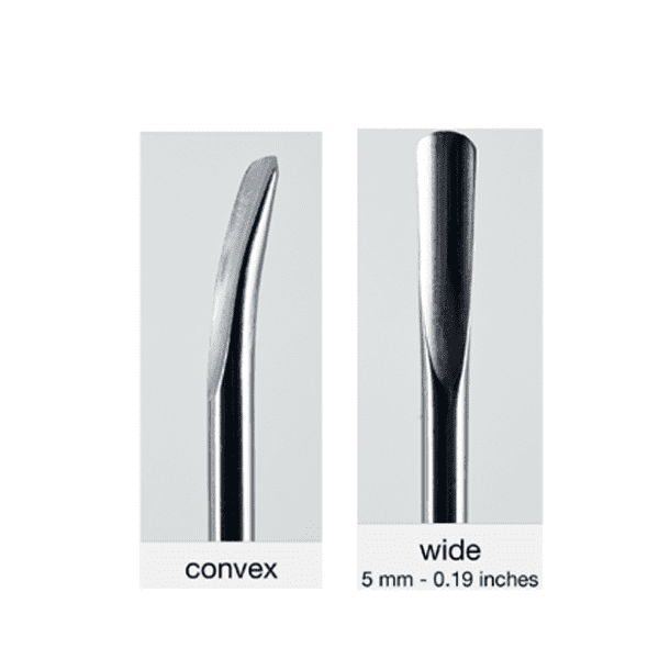 Luxator insert 150/5 convex