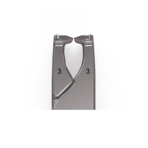 Molar spreaders No. 3 – Thickness 6 mm